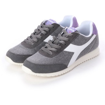 ディアドラ Diadora JOG LIGHT C (steel gray/violet tulip)