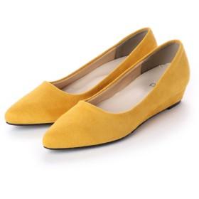 リーカ RiiiKa ポインテッドトゥウェッジパンプス (yellow)