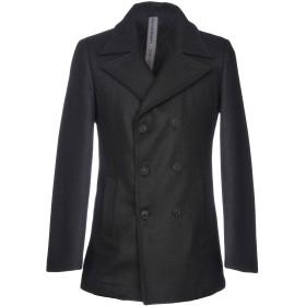 《期間限定 セール開催中》HAMAKI-HO メンズ コート ブラック 50 ウール 50% / ポリエステル 35% / ナイロン 15%