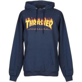 《セール開催中》THRASHER メンズ スウェットシャツ ダークブルー S コットン 90% / ポリエステル 10%