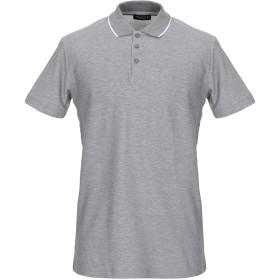 《期間限定 セール開催中》SELECTED HOMME メンズ ポロシャツ ライトグレー S コットン 100%