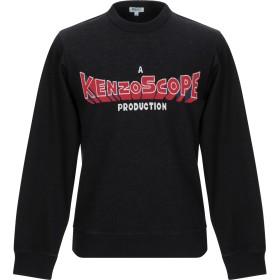 《セール開催中》KENZO メンズ スウェットシャツ ブラック S コットン 74% / ポリエステル 26%