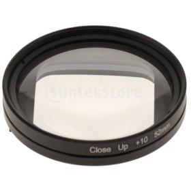 52mm + 10デジタル一眼レフカメラマクロクローズアップGOPRO Hero 5用フィルターHero 6 Hero 7