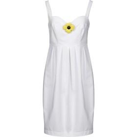 《期間限定 セール開催中》BOUTIQUE MOSCHINO レディース ミニワンピース&ドレス ホワイト 40 コットン 96% / 指定外繊維 4%