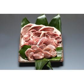 パンを食べて育ったむつみ豚のとんかつセット(2万円コース)