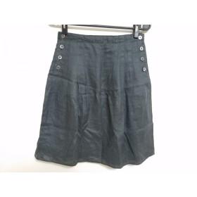 【中古】 マーガレットハウエル MargaretHowell スカート サイズ1 S レディース ダークグレー