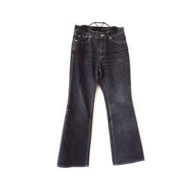 【中古】 ビースリー B3 B-THREE ジーンズ サイズ34 S レディース 黒 Jeans