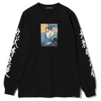 F-LAGSTUF-F / -Delivery Hells- 地獄特急便 Long Sleeve Tee メンズ Tシャツ BLACK L