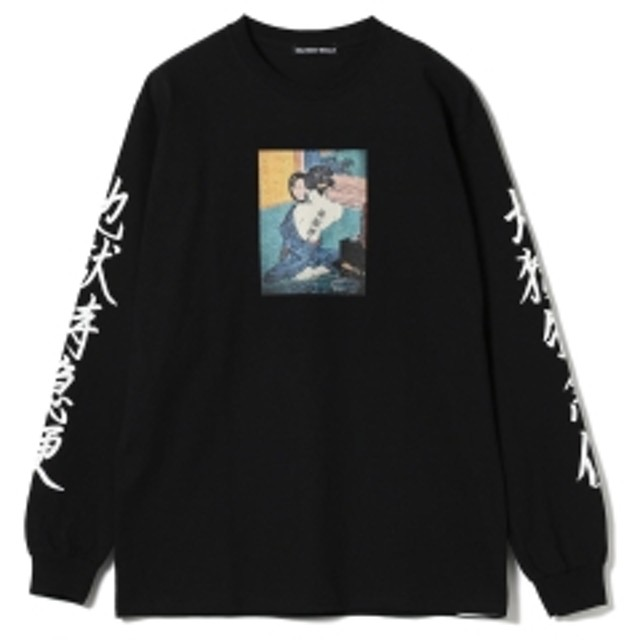F-LAGSTUF-F / -Delivery Hells- 地獄特急便 Long Sleeve Tee メンズ Tシャツ BLACK L