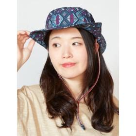 帽子全般 - チャイハネ 【チャイハネ】ジオメ柄サファリハット