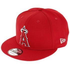 【Super Sports XEBIO & mall店:帽子】9FIFTY ロサンゼルス・エンゼルス スカーレット×チームカラー キャップ 11901196