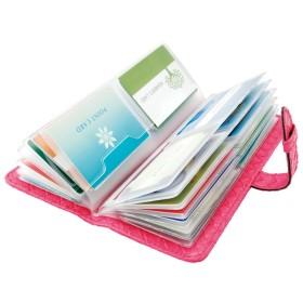 ベルーナ 52枚収納上手なカードポケット ピンク 1 レディース