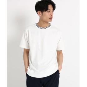 THE SHOP TK / ザ ショップ ティーケー 【WEB/一部店舗限定】ラインリブTシャツ