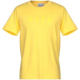 《9/20まで! 限定セール開催中》JOHN RICHMOND メンズ T シャツ イエロー S コットン 100%