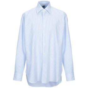 《セール開催中》LEXINGTON メンズ シャツ スカイブルー 43 コットン 100%