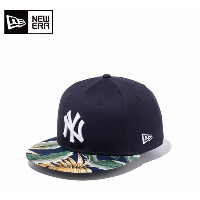 ニューエラ NEW ERA キャップ 帽子 メンズ レディース 9FIFTY ボタニカル ニューヨーク・ヤンキース 11901187