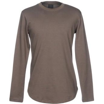 《セール開催中》DBYD x YOOX メンズ スウェットシャツ ミリタリーグリーン 48 コットン 55% / ポリエステル 45%