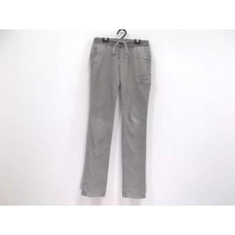 【中古】 ジェームスパース JAMES PERSE パンツ サイズ0 XS レディース 美品 グレー