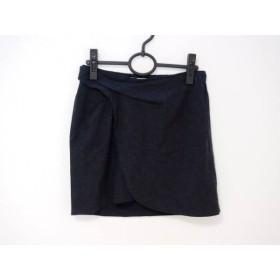 【中古】 シーバイクロエ SEE BY CHLOE ミニスカート サイズ38(I) S レディース ダークグレー