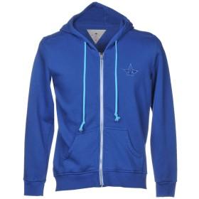 《期間限定 セール開催中》MACCHIA J メンズ スウェットシャツ ブルー S コットン 100%