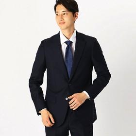 <COMME CA ISM (メンズ)> 《セットアップ》 カノニコ super110's シャドーストライプ スーツジャケット(4703GL09) ネイビー 【三越・伊勢丹/公式】