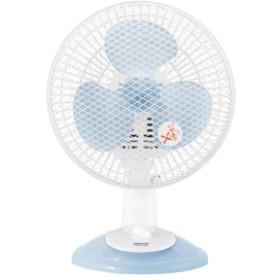 山善卓上扇風機ブルーYDS-E188-A
