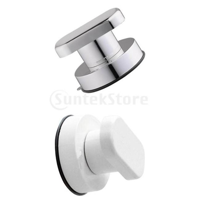 2ピース浴室シャワー吸盤安全ノブハンドル外部インテリア