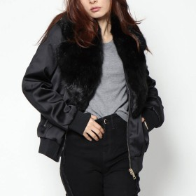 ジャケット・ブルゾン - GUESS【WOMEN】 [GUESS] HILMA BOMBER JACKET