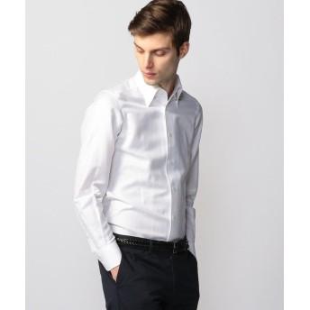 トゥモローランド リネンシャンブレー ワンピースボタンダウン ドレスシャツ ONEPIECE BD メンズ 11ホワイト S 【TOMORROWLAND】