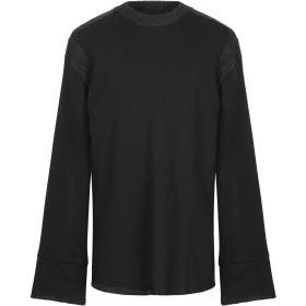 《期間限定 セール開催中》LOST & FOUND メンズ スウェットシャツ ブラック XS コットン 62% / 毛(アルパカ) 28% / ナイロン 10%