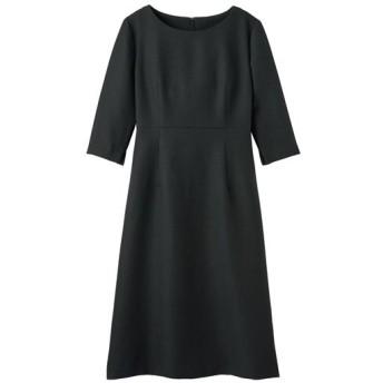 30%OFF【レディース】 ワンピース(フォーマル・卒業式・入学式) - セシール ■カラー:ブラック ■サイズ:7AR