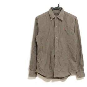 【中古】 ボヘミアンズ Bohemians 長袖シャツ サイズ1 S メンズ ダークブラウン