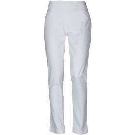 《セール開催中》PT0W レディース パンツ ホワイト 40 コットン 98% / ポリウレタン 2%