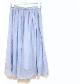 【中古】 トゥモローランド TOMORROWLAND パンツ サイズ36 S レディース ライトブルー