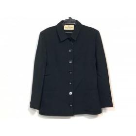 【中古】 バレンチノ VALENTINO ジャケット サイズ10 L レディース 黒