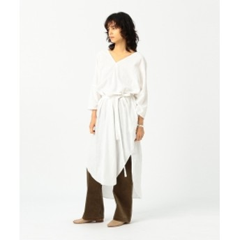 Pilgrim Surf+Supply Pilgrim Surf+Supply / Della Khadi Cocoon Dress レディース ワンピース WHITE ONE SIZE