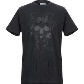 《期間限定セール開催中!》JOHN RICHMOND メンズ T シャツ ブラック S コットン 100%