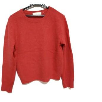 【中古】 ジユウク 自由区/jiyuku 長袖セーター サイズ38 M レディース ピンク