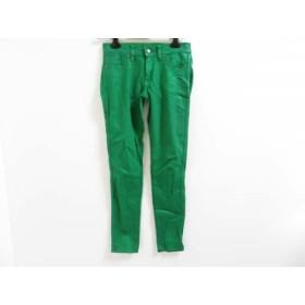 【中古】 ラルフローレン RalphLauren パンツ サイズ27 M レディース グリーン