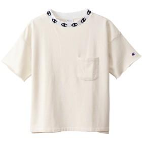 ウィメンズ ショートスリーブクルーネックスウェットシャツ 19SS チャンピオン(CW-P012)【5400円以上購入で送料無料】