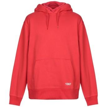 《セール開催中》NAPA メンズ スウェットシャツ レッド L コットン 80% / ポリエステル 20% B-KASRA SWEAT