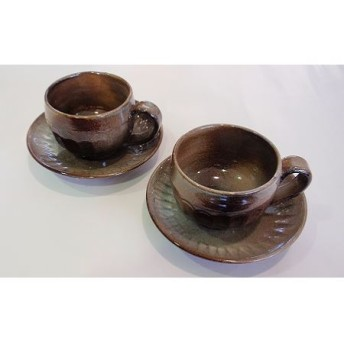 須佐唐津焼 コーヒーカップ2客セット