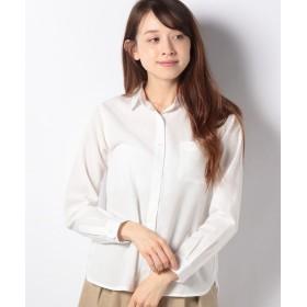 【50%OFF】 テチチ Lugnoncure イージーリネンレギュラーシャツ レディース ホワイト F 【Te chichi】 【セール開催中】