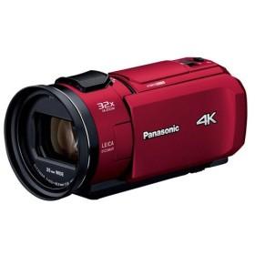パナソニック HC-VZX1M-R レッド デジタル4Kビデオカメラ