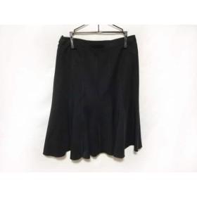 【中古】 ランバンコレクション LANVIN COLLECTION スカート レディース 黒