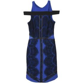 《期間限定セール開催中!》SILVIAN HEACH レディース ミニワンピース&ドレス ブルー S ポリエステル 100% / ポリウレタン