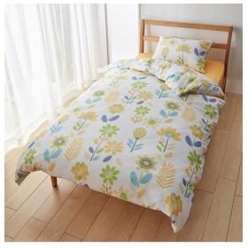 プリントカバーリングセット(フラワー柄) 布団カバーセット, Bedding Duvet Covers, 被套