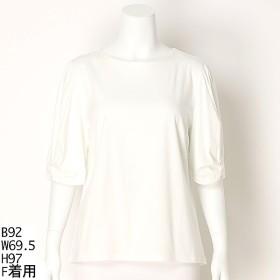 [マルイ]【セール】【大きいサイズ】袖口リボンチュニック/ラクープ(LACOUPE)