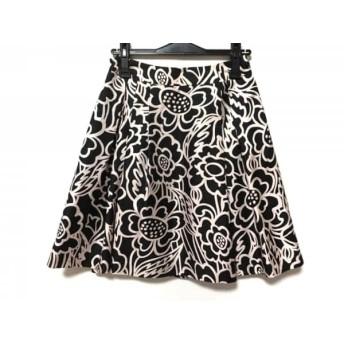 【中古】 トゥービーシック TO BE CHIC スカート サイズ40 M レディース 黒 ピンク