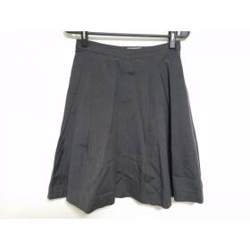 【中古】 マーガレットハウエル MargaretHowell スカート サイズ1 S レディース ダークブラウン
